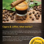 cigars coffee