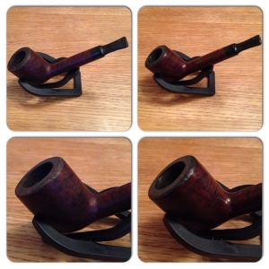 Second old pipe is polished