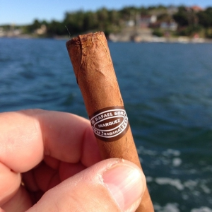 Cigar at sea