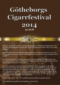 Program för Cigarrfestivalen 2014