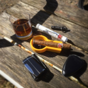 I Love fridays, especially this one! Sun, cigar, rum and my wife got a new job
