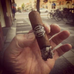 A nice cigar in the summer warm city of Örebro